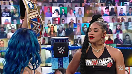 Bianca Belair reflects on her historic decision to battle The Boss at WrestleMania