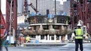 Broken Boring Machine Set to Tunnel Under Seattle in November
