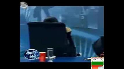 Music Idol 3 - Момиче Пее Само Смях !!!!