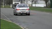 Subaru Impreza Wrx Sti Gc8 Antilag Simtek spitting flames