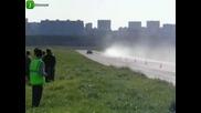 Москвич наказва Camaro Ss !!!!