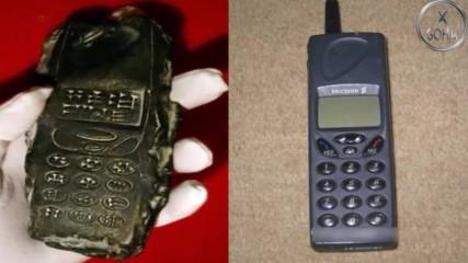 Археолози откриха мобилен телефон на 800 години!