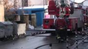 Кооперация горя в центъра на София