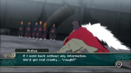 Naruto Shippuden Ultimate Ninja Storm 2 - Jiraiya vs Pain Boss Battle [ps3]
