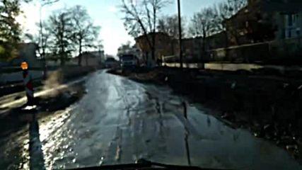 Ремонт на главен път в Крумовград