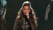 Удивителна! Selena Gomez - Slow Down- The X Factor U S A