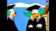 Семейство Симпсън С06 Е15 - Хоумър става клоун и заменя Кръсти бг аудио