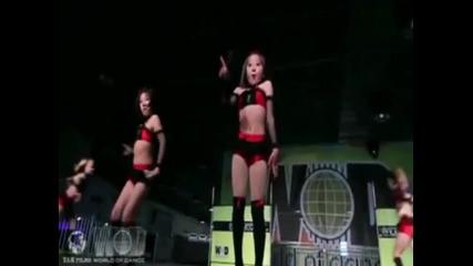 7 годишни момичета танцуват на Single ladies