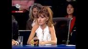 Фънки отново полудя и здраво се заяде с лудака Иван - Music Idol 2 - голям концерт - 24.03.08 Hq