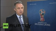 Russia: FIFA elections won't influence Russia's hosting of World Cup 2018 - Sports Min. Mutko