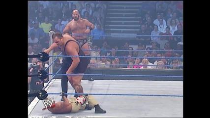 Wwe Rey Mystero & Tajiri vs Big Show & A-train - Smackdown 17.04.2003