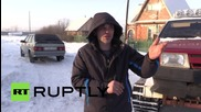 Руснак направи от купе на Lada Samara всъдеход