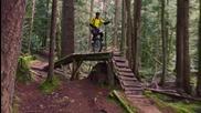 Unicycle - Екстремно каране в гората ..