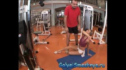 Goli I Smeshni -[po4ti] Гола Във Фитнеса