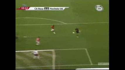 Бока Хуниорс 1 - 2 Манчестър Юнайтед Инсуа