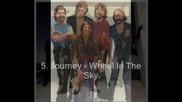 Journey Tribute - Top 10