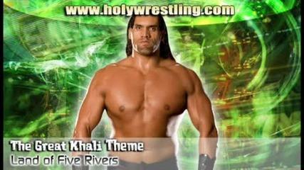 The Great Khali theme - Land of Five Rivers