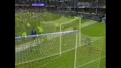 Drogba 2 - 3 - Everton V Chelsea