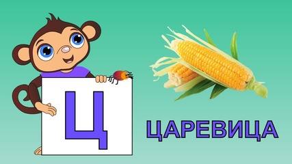 Образователно Видео За Деца- Буквите Р - Я (част 3)