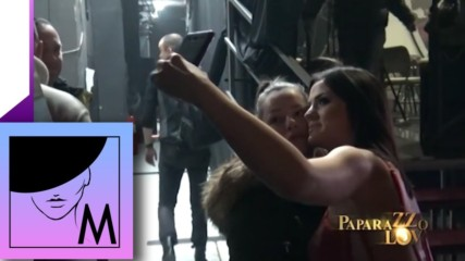 Milica Pavlovic - Paparazzo lov - Prilog - (TV Pink 15.03.2017.)
