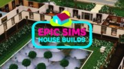 Epic Sims House Builds: An awesome mega mansion time lapse