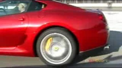 Mercedes Mclaren Slr vs Ferrari 599