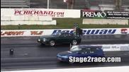 Спорна гонка между Тойота супра и Хонда сивик