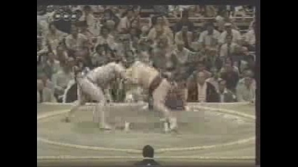 Сумо - Бърза Победа На Котоошу