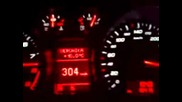 Audi R8 дига 308km/h (на магистрала Тракия)