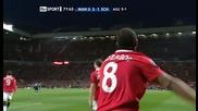 Манчестър Юнайтед 4 - 1 Шалке Андерсон Гол *hq*