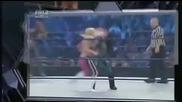 Smackdown 21/08/09 Michelle is back! Melina & Maria vs. Layla & Natalya