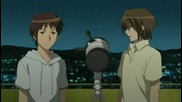 Suzumiya Haruhi No Yuuutsu Епизод 7 Eng Sub