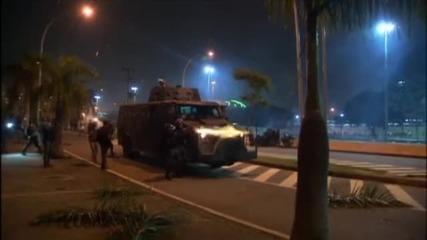 Военната полиция в Бразилия показа как ще пази Мондиала