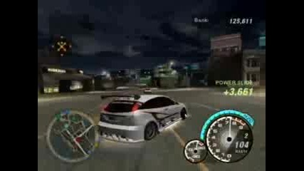 Need For Speed Underground 2 Power Slide 4623 Pts