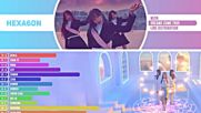 Wjsn - Dreams Come True Line Distribution Color Coded -