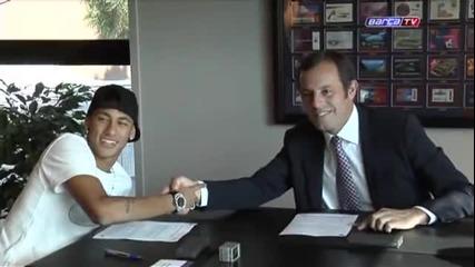 Neymar подписва с Барселона !