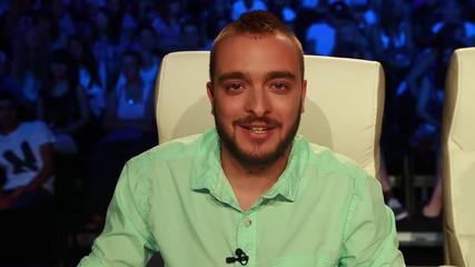 Криско за официалния канал на X Factor във Vbox7