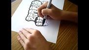 Как се прави графит на лист