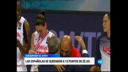 САЩ са новият световен шампион по баскетбол за жени