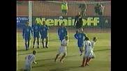 България - Русия 1:1 Бербатов Гол От Фаул