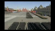 Изпълнение на Руския национален химн от руски военнослужещи