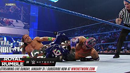 Rey Mysterio vs Shawn Michaels: SmackDown, Jan. 29, 2010 (Full Match)