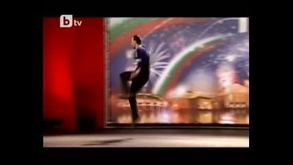 Най - дивият танц в предаването - Бтт