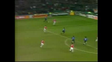 Manchester United - Inter 1999 Qf 1st Leg