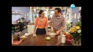 """Пъстърва с портокалов """"Холандез"""", бананови хлебчета, супа от зелен фасул. - Бон Апети (08.04.2013)"""