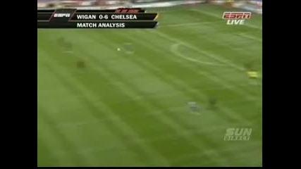 Wigan Athletic Vs Chelsea (0 - 6) 21.08.2010