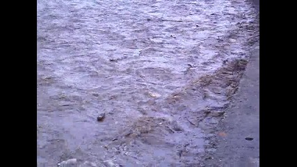 Изваждане на кон от река Места