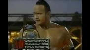 The Rock Vs. Triple H Vs. X - Pac - Мач За Интерконтинеталната Титла