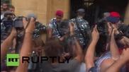 Ливан: Размирици пред сградата на Министерството на околната среда в Байрут