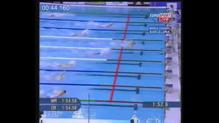 Natacion - Michael Phelps - Salida Crawl